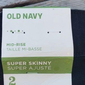 Old Navy Jeans - Black skinny Jean's new